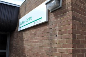 Cash - North Warwickshire College - Student Centre Sign