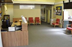 Atherstone Clinic - Waiting Room
