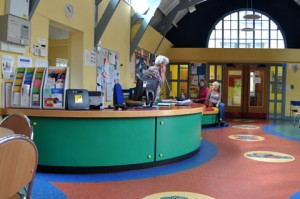 Cash - Riversley Park Centre - Reception